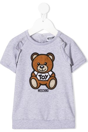 Moschino Vestido con motivo Teddy Bear