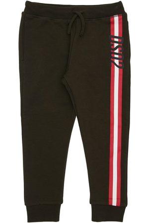 Dsquared2 Niña Pantalones - Pantalones Deportivos De Algodón Estampados