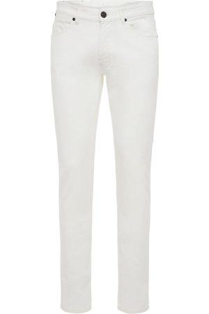 Pantaloni Torino Jeans Super Slim De Algodón Stretch 17.5cm