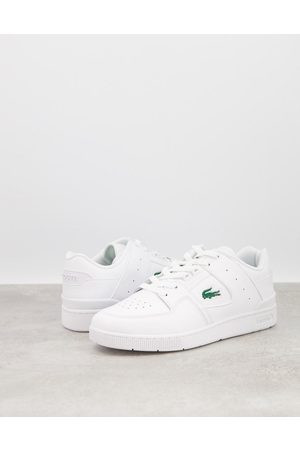 Lacoste Court cage in triple white