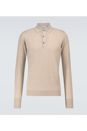 JOHN SMEDLEY Cotswold long-sleeved polo shirt