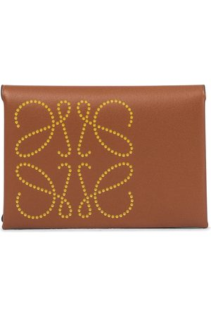 Loewe Anagram leather card holder