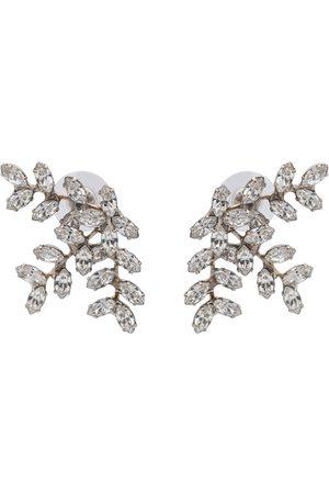 Jennifer Behr Viniette crystal-embellished earrings