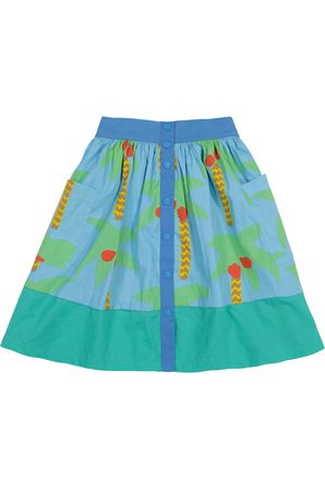 Stella McCartney Printed organic cotton skirt