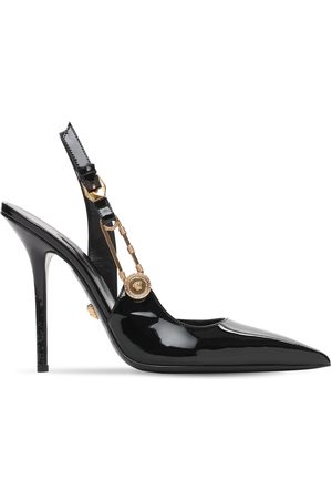VERSACE Pumps Destalonados De Charol 110mm