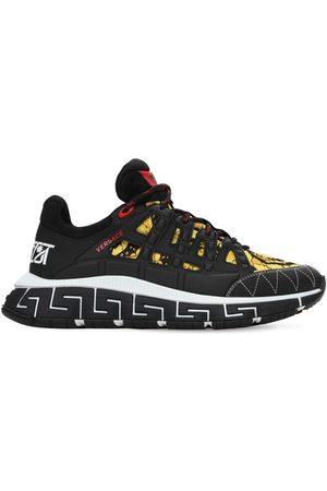 """VERSACE Sneakers """"baroque Trigreca"""" Con Logo"""