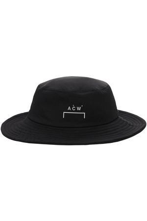 A-cold-wall* Sombrero Bucket De Nylon Con Logo Estampado