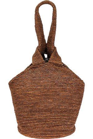 SENSI STUDIO Mujer Bolsas de playa - Bolso tote paja en color talla all en - . Talla all.