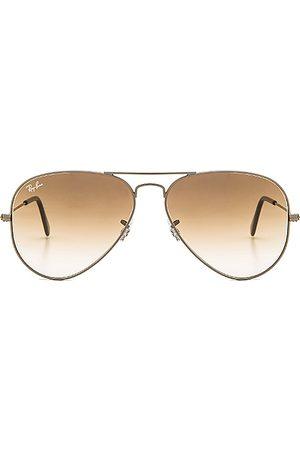 Ray-Ban Gafas de sol aviator en color plateado metálico talla all en - Metallic Silver. Talla all.