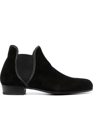 LIDFORT Hombre Botines - Braided-trim ankle boots