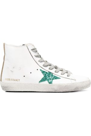 Golden Goose Tenis altos Francy