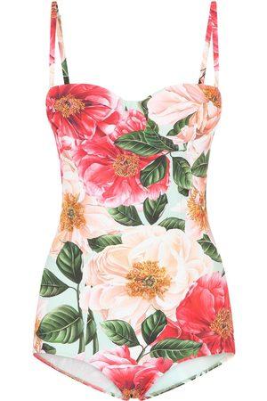 Dolce & Gabbana Mujer Trajes de baño - Traje de baño con estampado floral