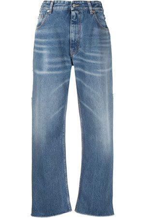 MM6 MAISON MARGIELA Mid-rise wide-leg jeans