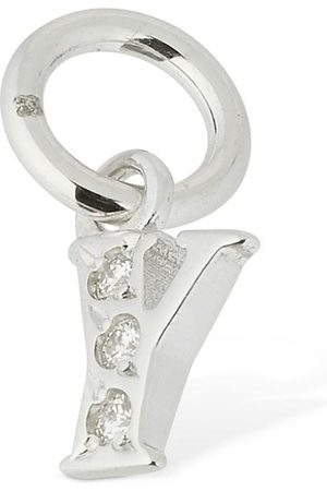 """Dodo Colgante """"y"""" De Oro Blanco 18kt Y Diamantes"""