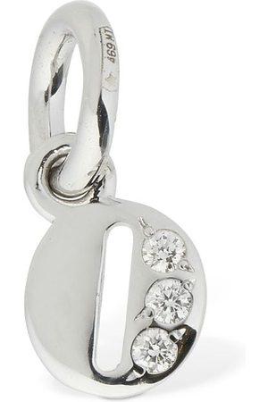 """Dodo Mujer Collares - Colgante """"o"""" De Oro Blanco 18kt Y Diamantes"""