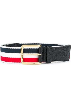Thom Browne Hombre Cinturones - Cinturón con detalle de rayas