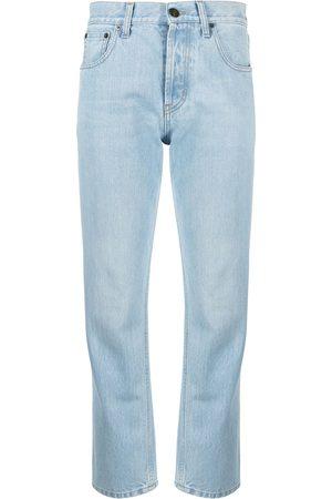 Saint Laurent Jeans rectos con efecto degradado