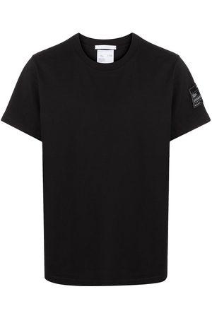 Helmut Lang Camiseta con parche del logo