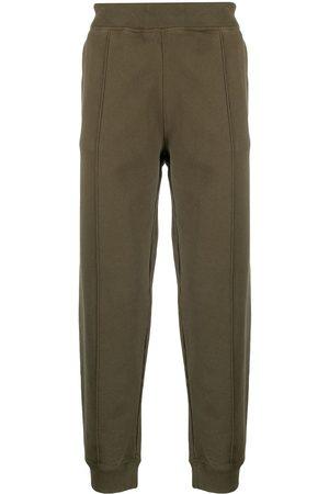 Helmut Lang Pantalones de chándal con detalle de correa