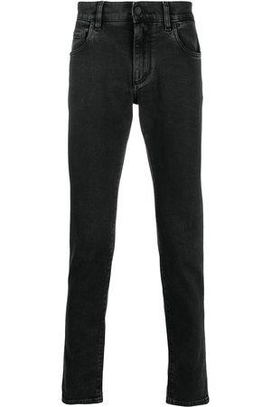 Dolce & Gabbana Jeans slim con logo en relieve