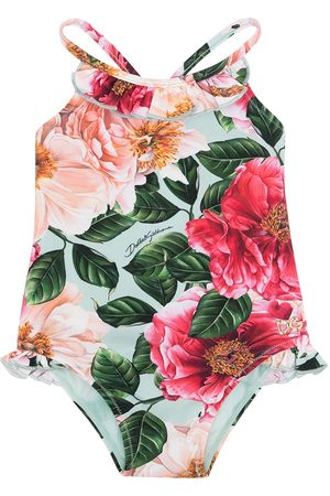 Dolce & Gabbana Bañador con estampado floral