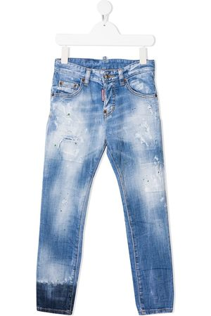 Dsquared2 Jeans con efecto de salpicaduras de pintura