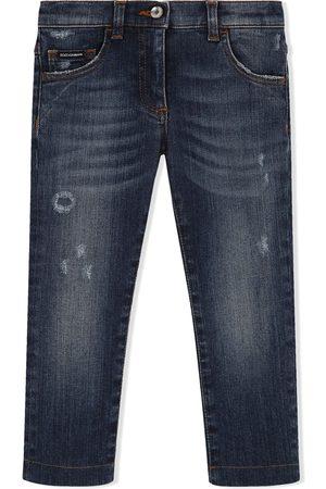 Dolce & Gabbana Skinny jeans con efecto envejecido