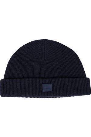 Acne Studios Ribbed-knit wool beanie
