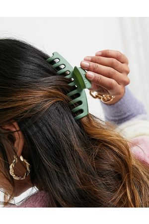 ASOS Hair clip claw in sage green