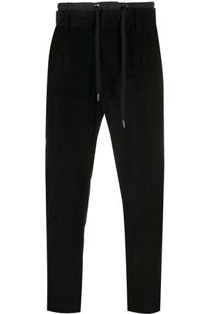 Dolce & Gabbana Hombre Slim y skinny - Pantalones slim con cordón