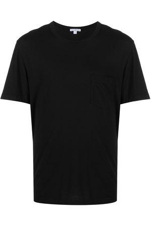 James Perse Camiseta con bolsillo en el pecho