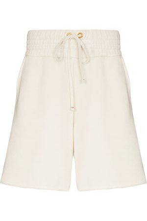 Les Tien Yacht cotton track shorts