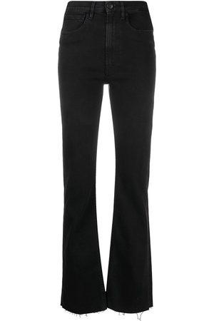 3x1 Mujer Rectos - Jeans rectos con tiro medio