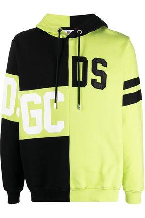 GCDS Logo patchwork hoodie
