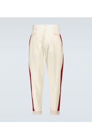 Maison Margiela Hombre Pantalones y Leggings - Gabardine cotton pants