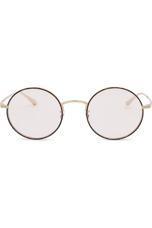 The Row Mujer X Oliver Peoples After Midnight round glasses
