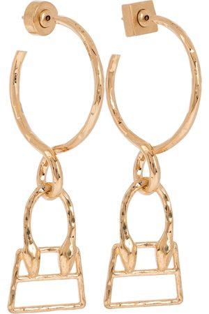 Jacquemus Mujer Aretes - Les Creoles Chiquita hoop earrings