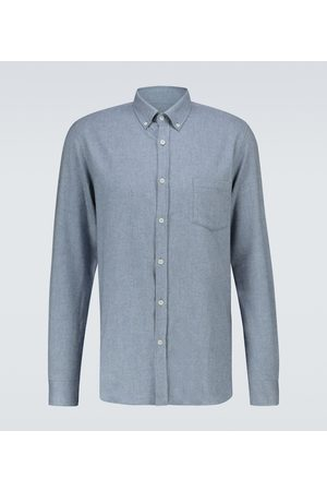 Sunspel Hombre Casuales - Long-sleeved cotton shirt