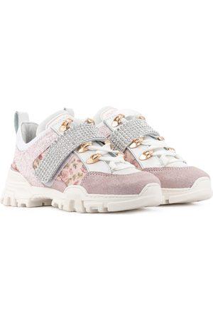 MONNALISA Niña Tenis - Leather sneakers