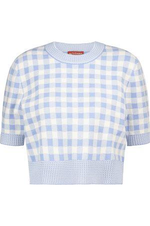 Altuzarra Mujer Suéteres - Skylar checked sweater