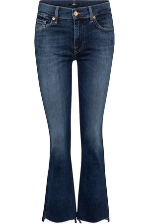 7 for all Mankind Mujer Acampanados - Slim Illusion mid-rise bootcut jeans
