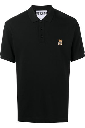 Moschino Playera tipo polo con bordado Teddy Bear