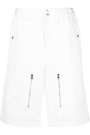 Alexander McQueen Bermudas con bolsillos