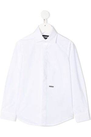 Dsquared2 Camisa con placa del logo