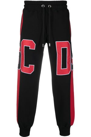 GCDS Pants con diseño en colour block