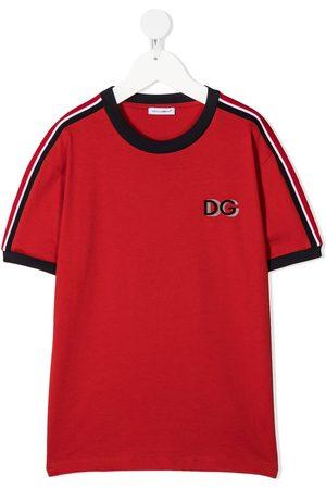 Dolce & Gabbana Playera con logo en el pecho