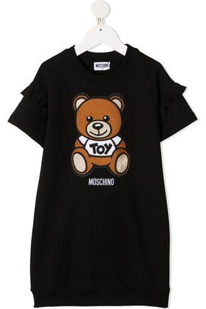 Moschino Vestido estilo playera con motivo Teddy Bear