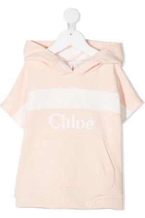 Chloé Niña Con capucha - Sudadera con capucha y logo