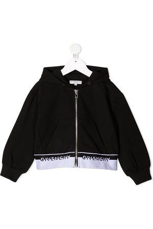 Givenchy Hoodie con ribete del logo