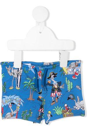Stella McCartney Trajes de baño - Shorts de playa Flamingo Land